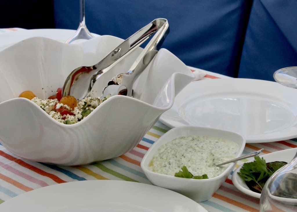 Taramasalata spread, Greek menu, Greek menu items, Greek specialty foods