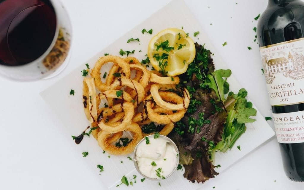 greek calamari, Greek food, Greek food list, Greek Mediterranean food