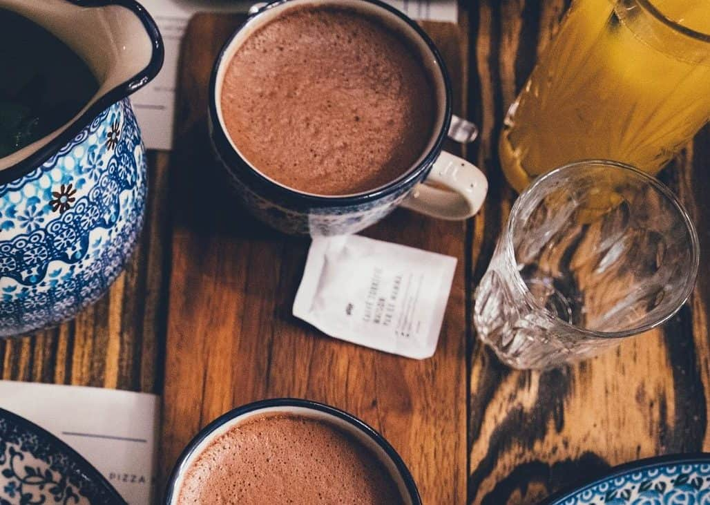 Drinks in Mexico are hot Chocolate