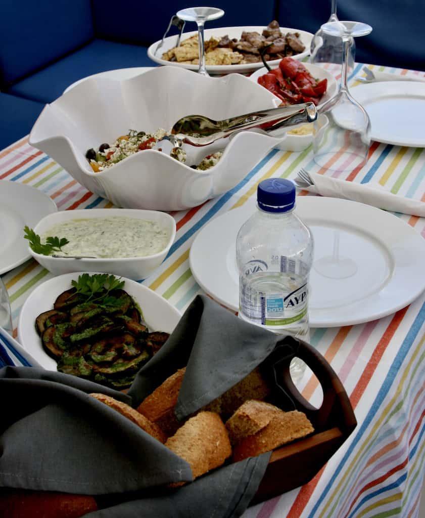 Zuchini fritters, Greek menu, Greek menu items, Greek specialty foods