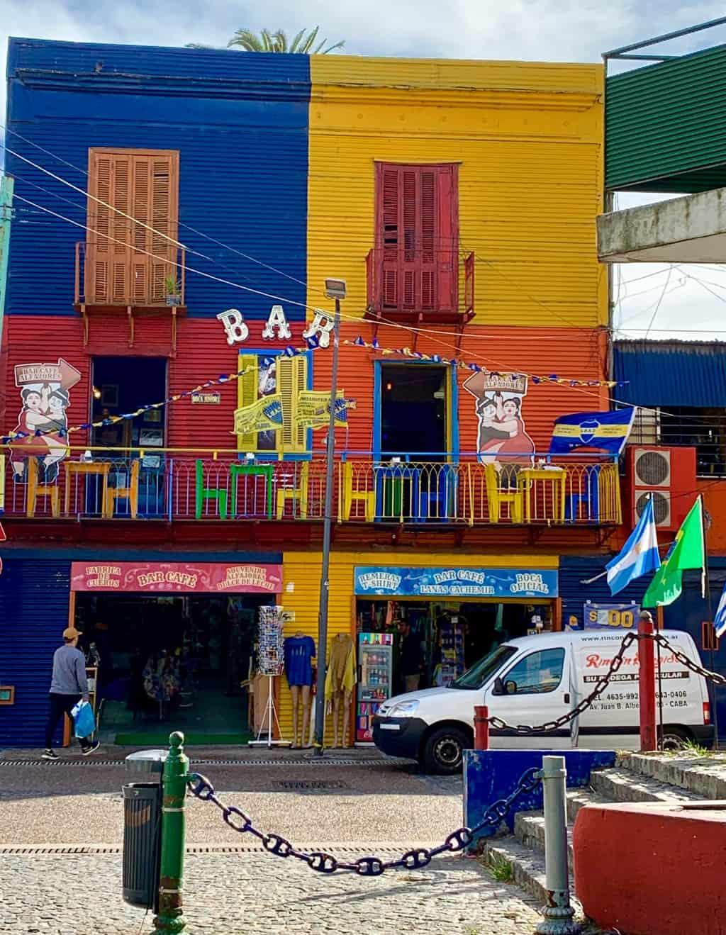 artist paintings in la boca, #LABoca