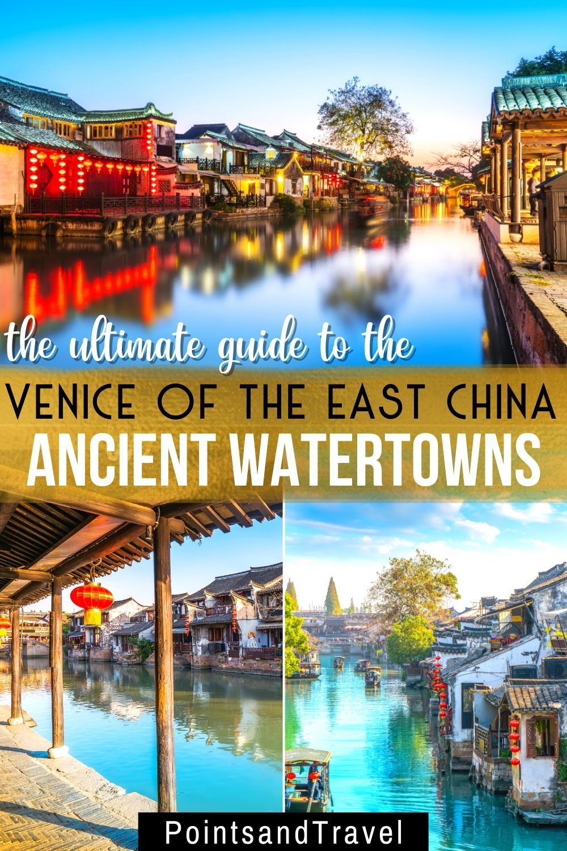 Water Towns of China, Venice of the East, Bridge in Zhouzhaung, China
