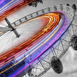 Spin on the London Eye