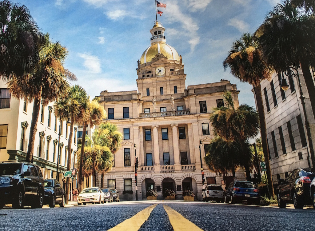 State capital of Savannah GA