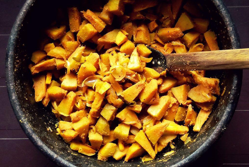 Breadfruit rondon, Jamaican food, Jamaican cuisine, Jamaican Dishes, Jamaican Breakfast