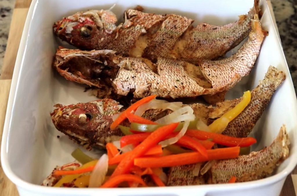 Escovitch Fish, Jamaican food, Jamaican cuisine, Jamaican Dishes, Jamaican Breakfast