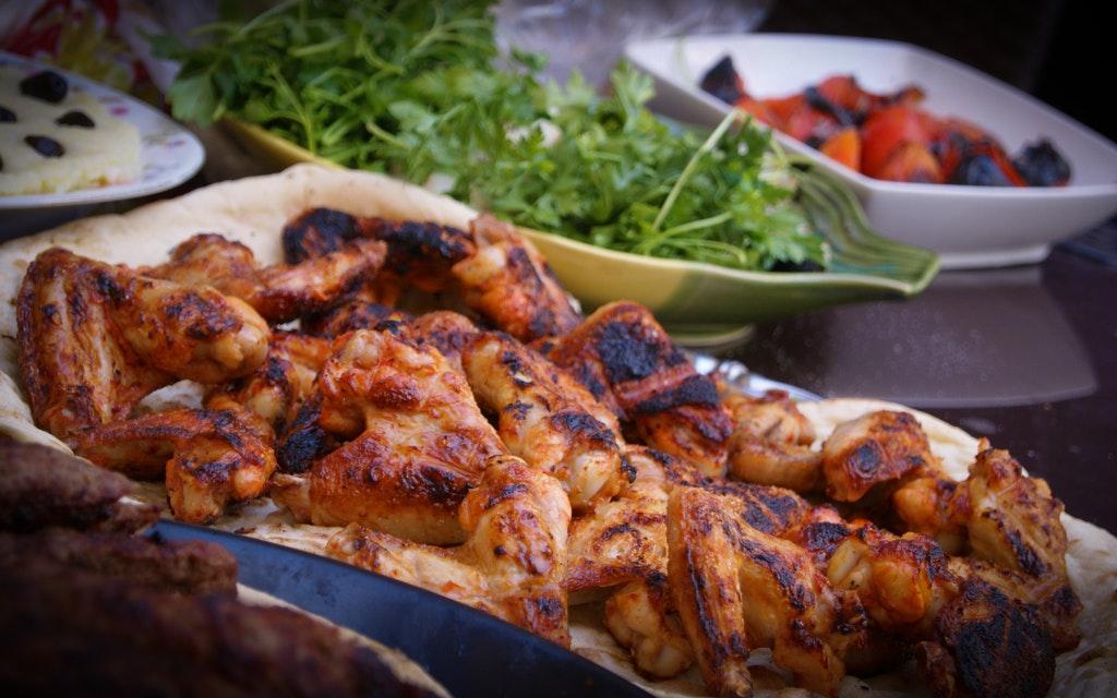 Jerk chicken, Ackee and Saltfish, Jamaican Food, Jamaican dish, Jamaican cuisine