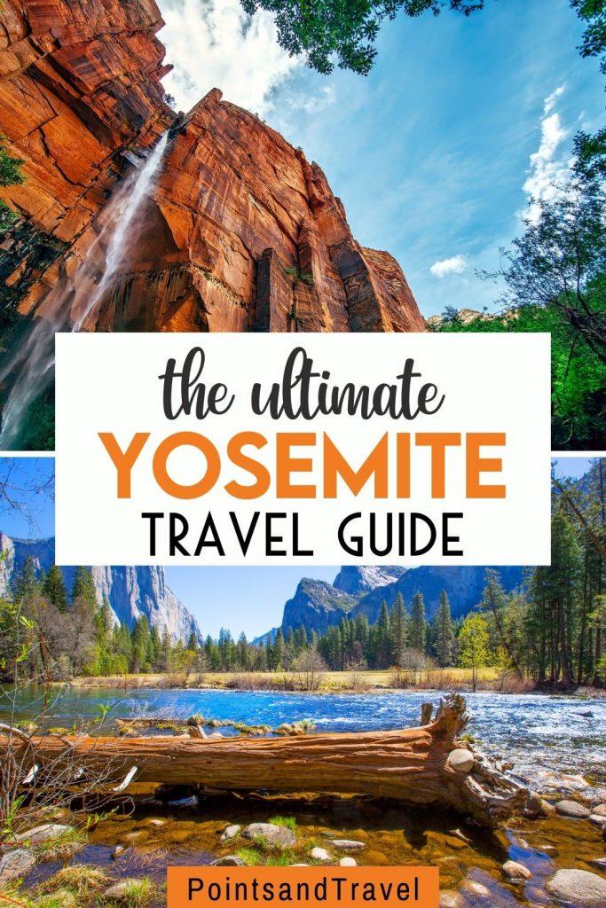 Yosemite National Park  in the summertime