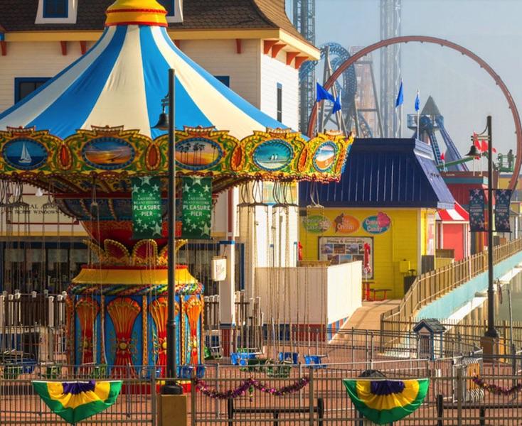 Carnival in Galveston Island