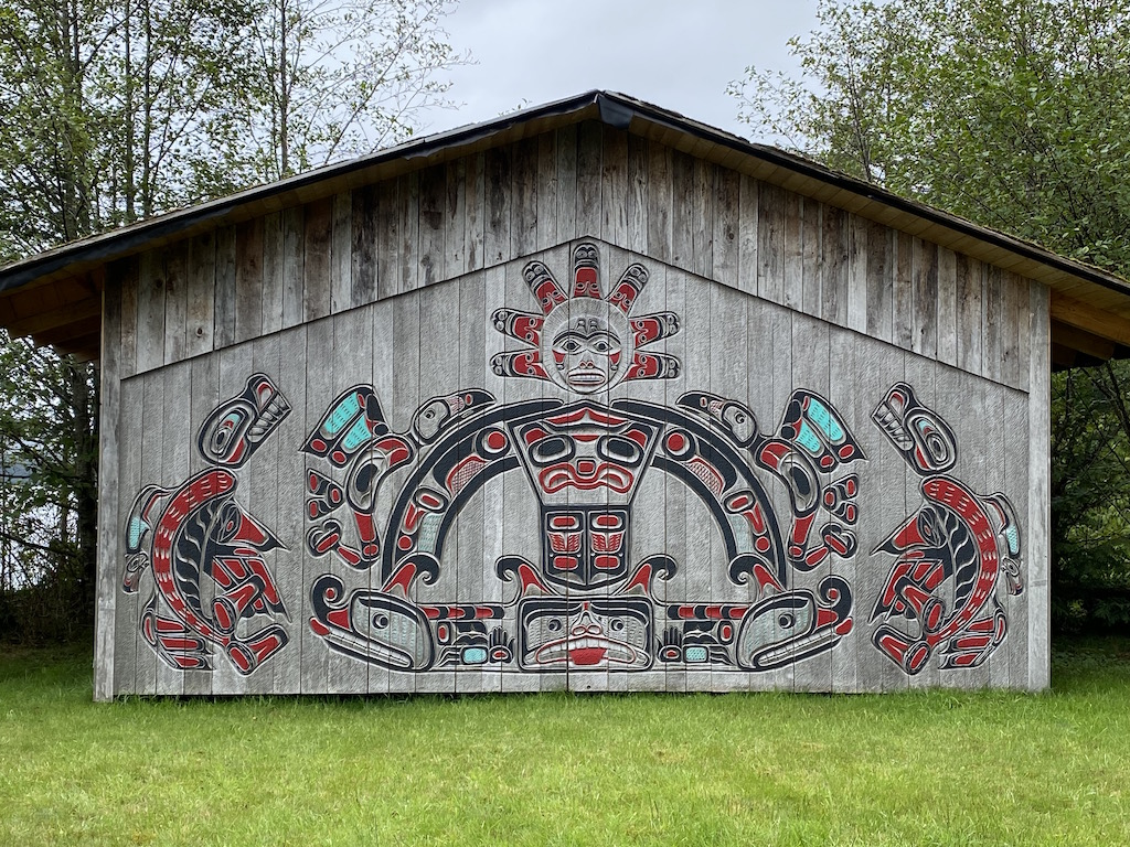 A Clan House in Ketchikan Alaska
