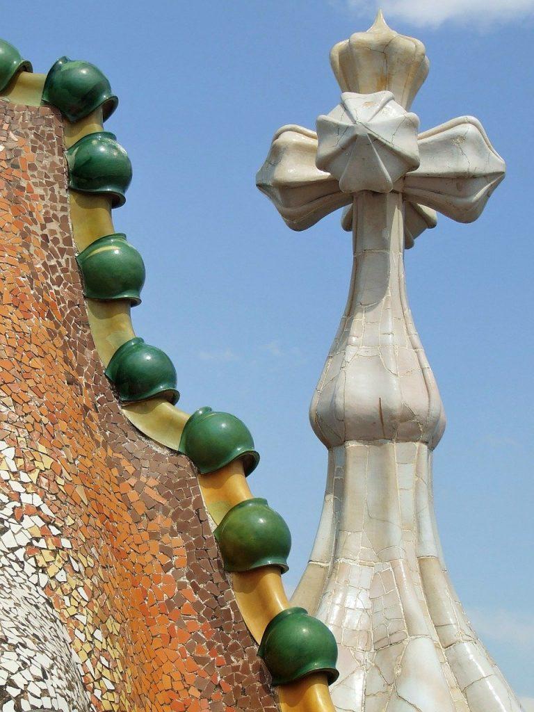 Casa Batlló by Guadi in Barcelona Spain