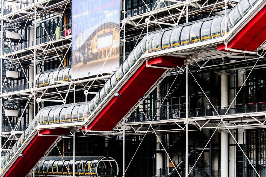 Centre Pompidou in Paris France
