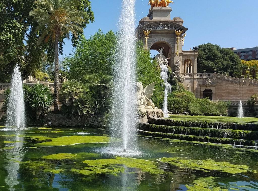 Citadel Park in Barcelona Spain