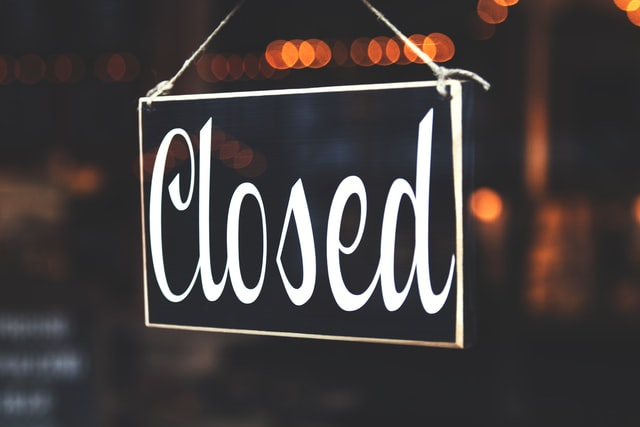 Closed sign, One Day in Philadelphia, #Philadelphia, #Pennsylvania