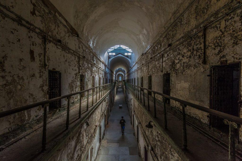 One day in Philadelphia, Eastern Statte Penitentiary