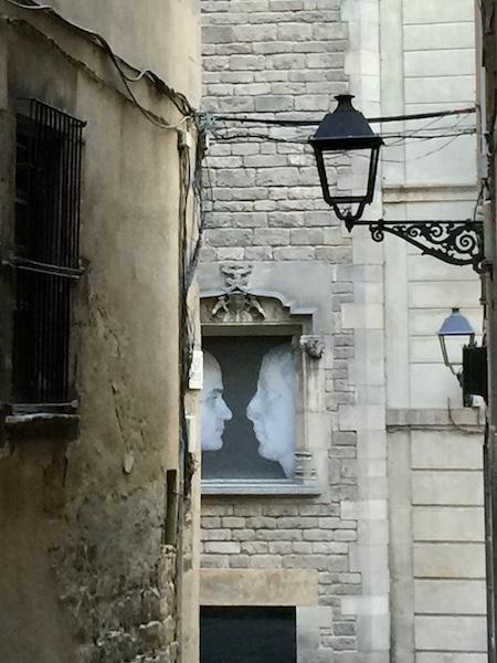 El Gotic Neighborhood in Barcelona Spain