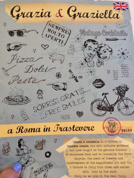 Grazia & Graziella in Trastevere Italy
