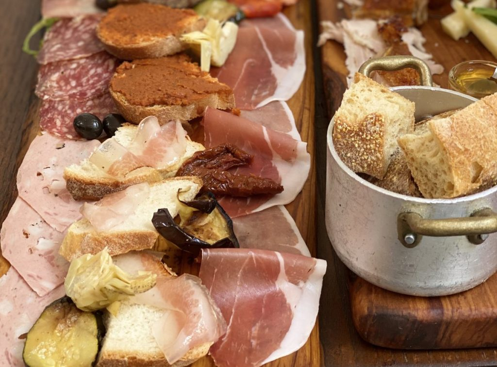 Food in Rome Italy