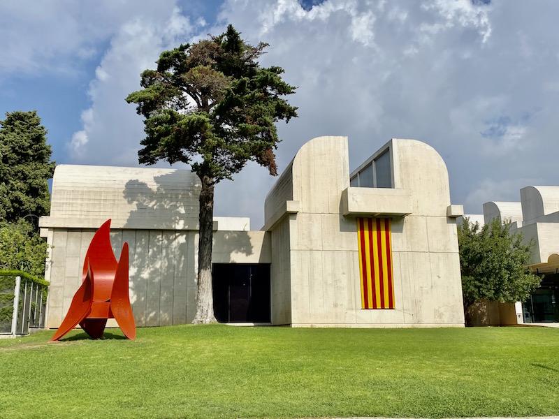 Joan Miro Foundation in Barcelona Spain