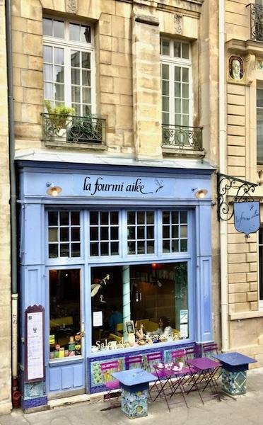 La Four mi ailee cafe in Paris France