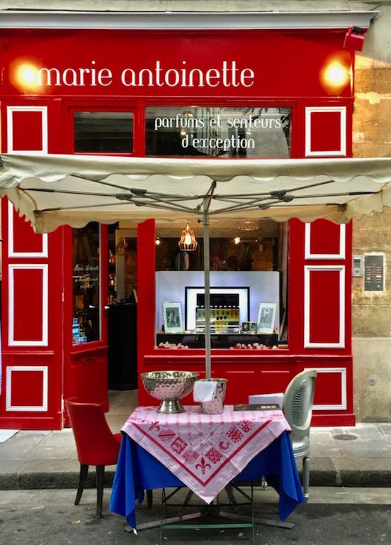 Marie Antoinette Cafe in Paris France
