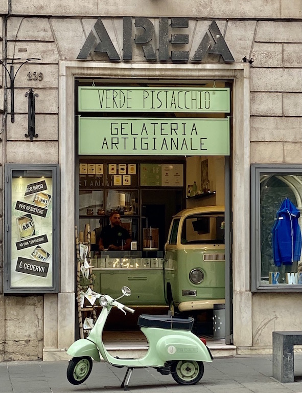 Moto in Rome Italy