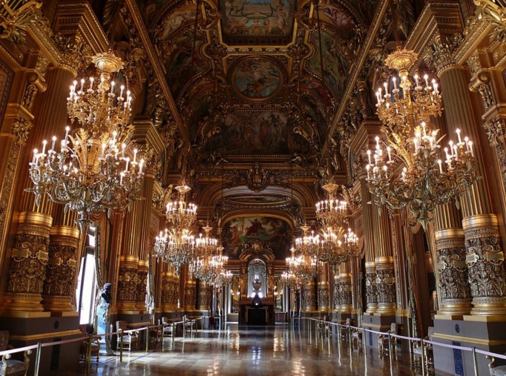 Opera House inside Paris France