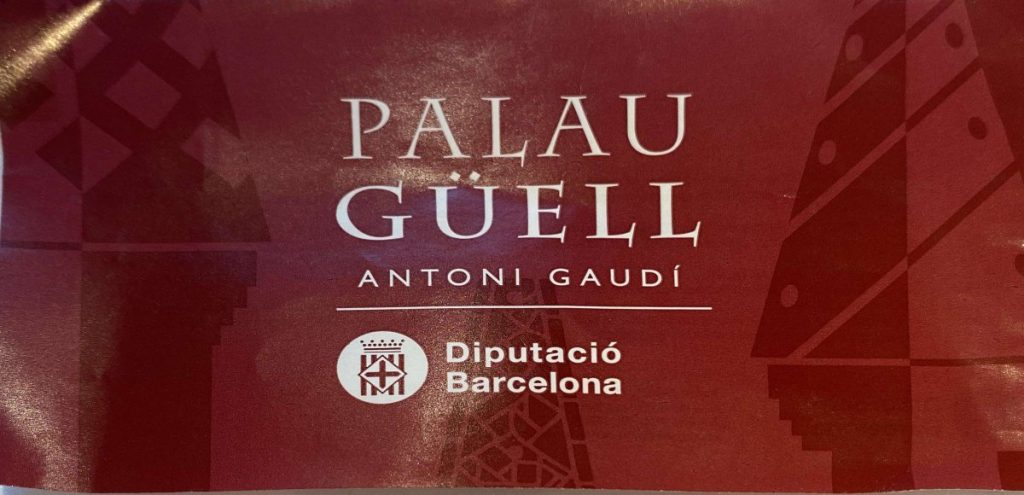 Palau Guell ticket