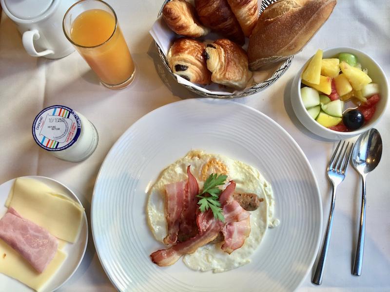 Paris France Breakfast food
