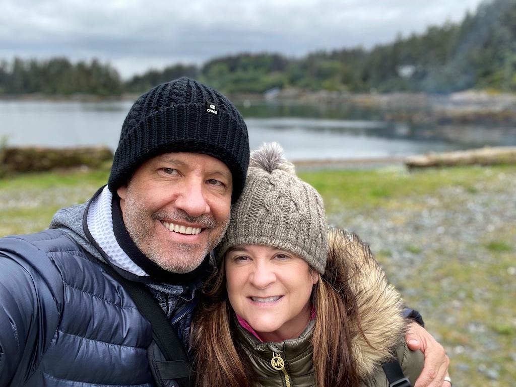 Patrick and Cacinda Maloney in Alaska