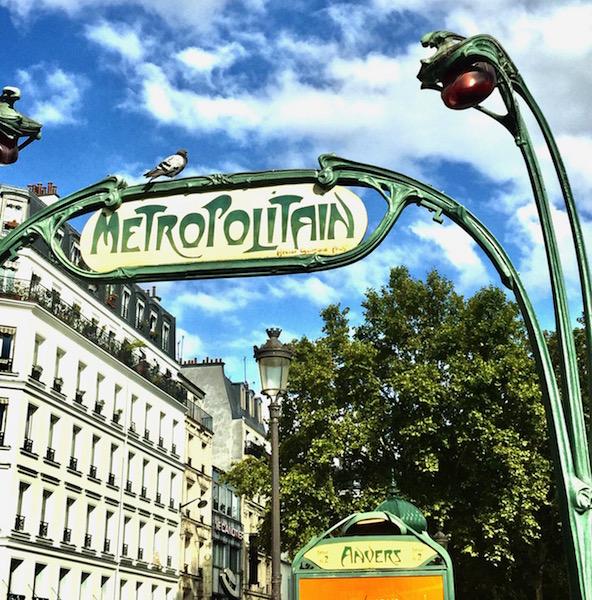 Ride the Metropolitain in Paris France