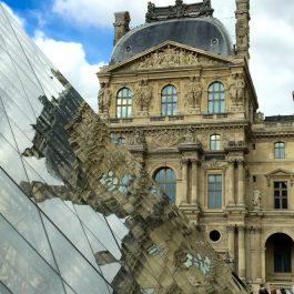 the Louve in Paris
