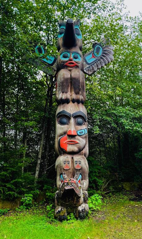 Totem Pole image in Alaska