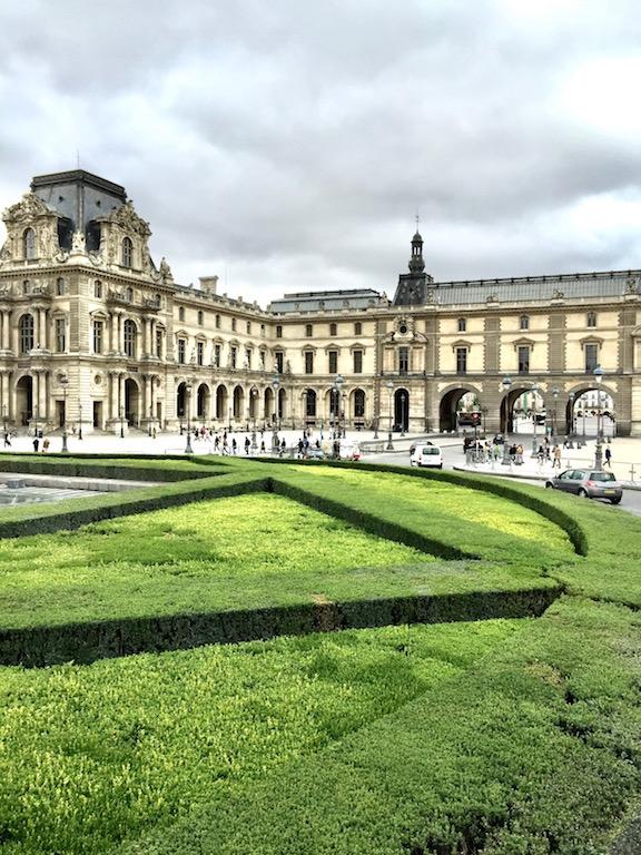 Tuileries Garden in Paris France
