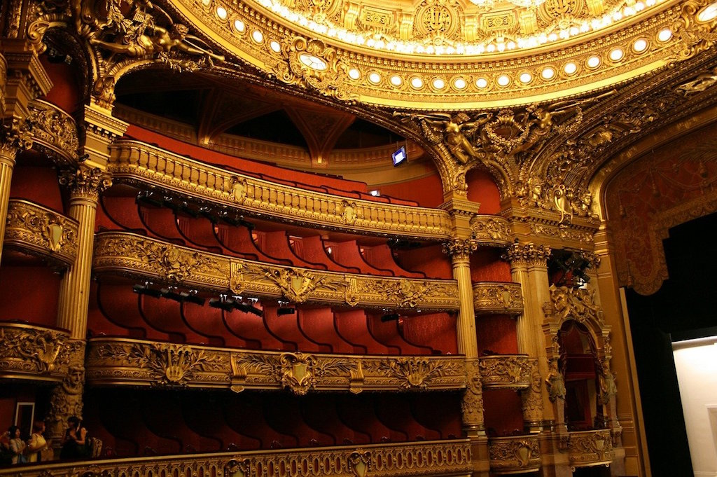 Opera Garnier House in Paris France