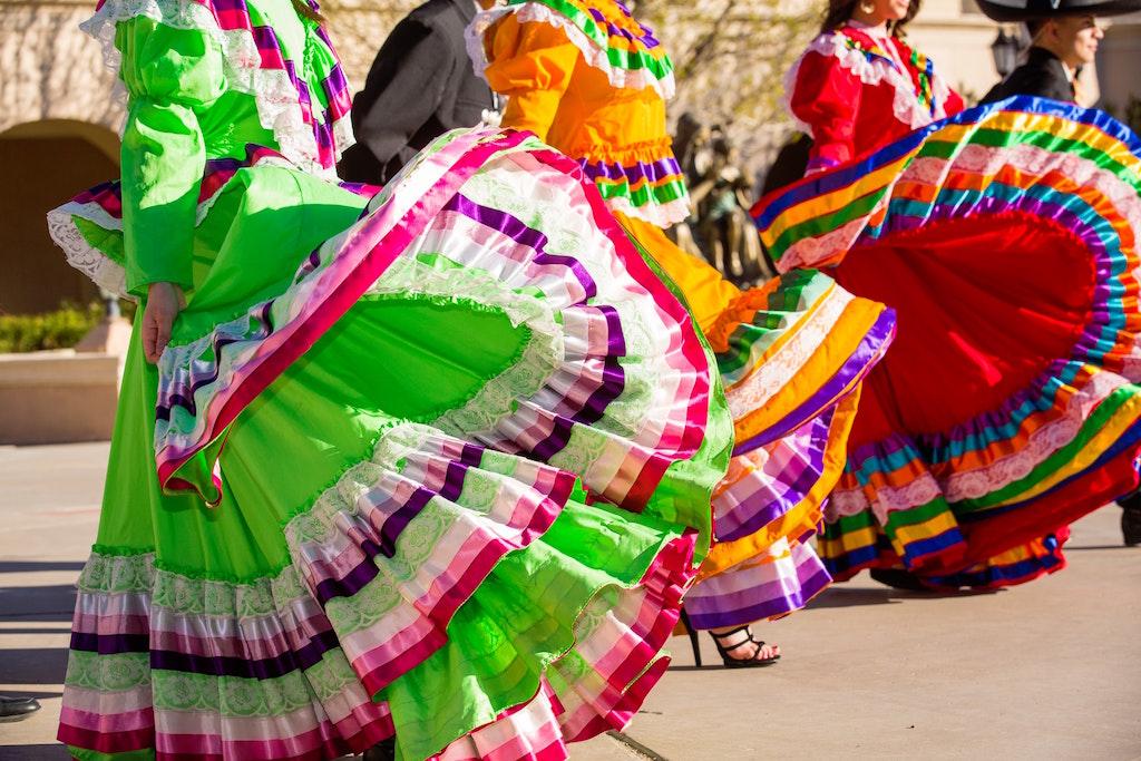 Colorful Flamenco Dresses