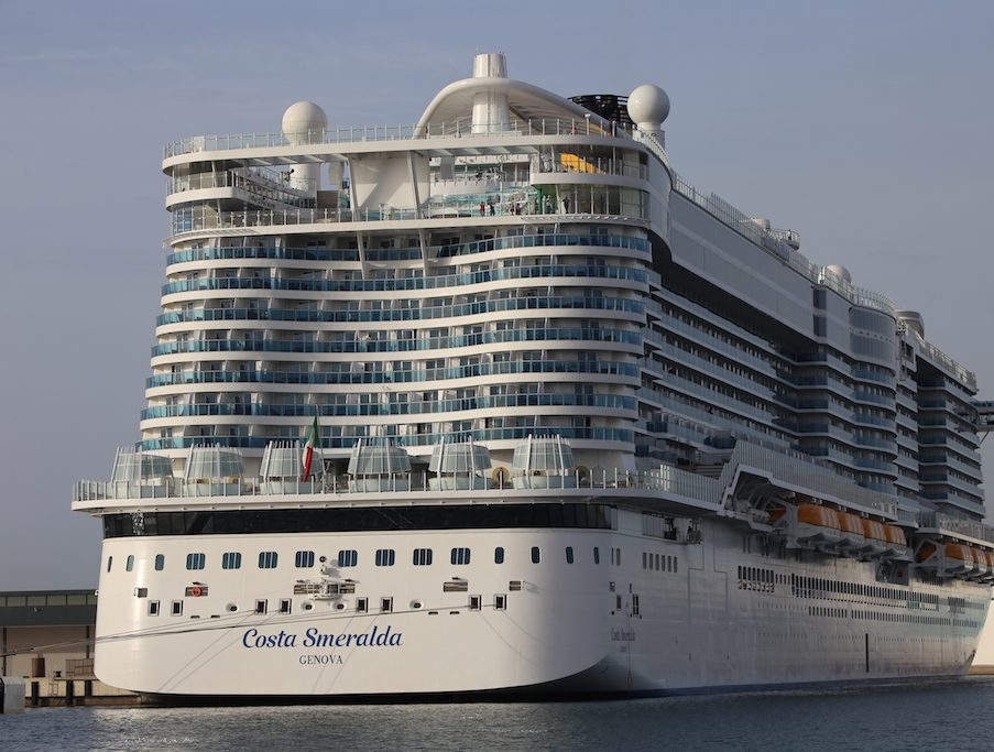 Costa Smeralda cruise ship,
