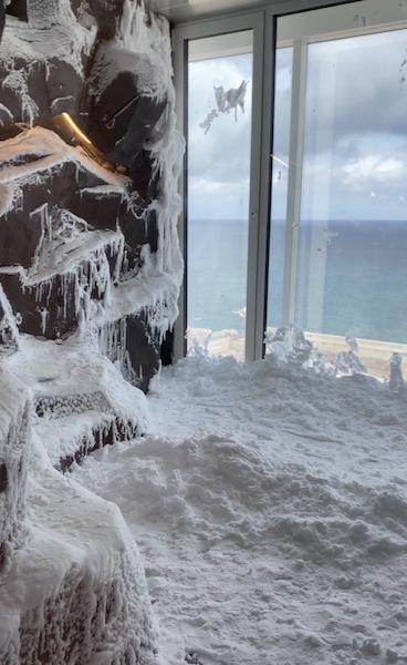 Snow Room in the Spa of Costa Smeralda