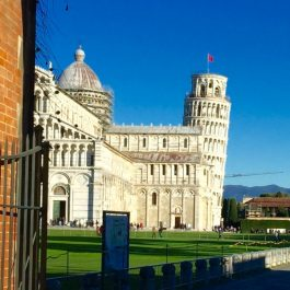The leaning tower of Pisa Italy