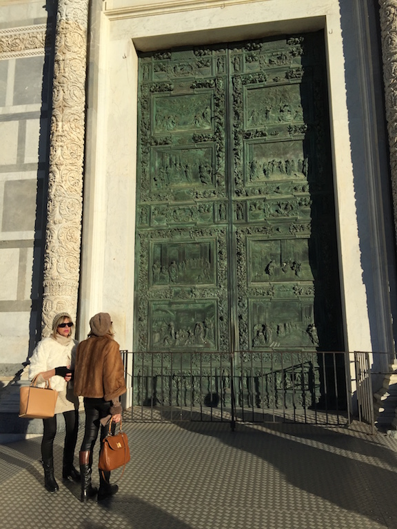 The doors to the Tower