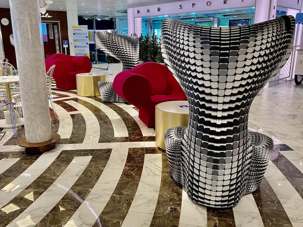 Costa Smeralda Chairs in Gelato area