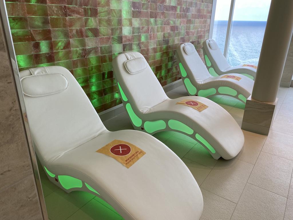The spa, relaxing room, Costa Smeralda