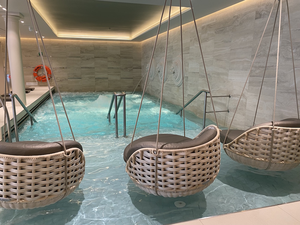 The spa on the costa smerald
