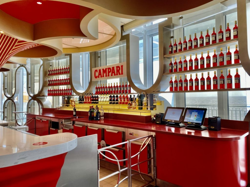 Campari Bar on Costa Smeralda