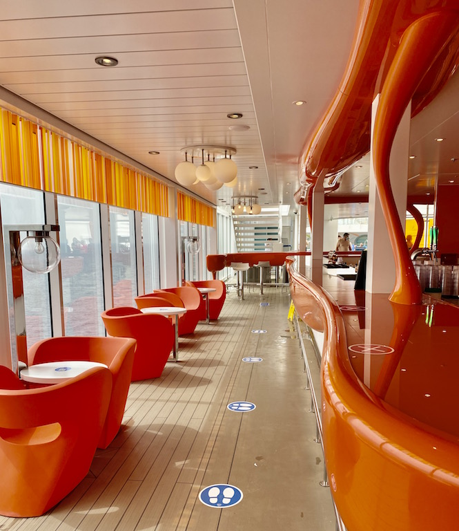 Lounge on Costa Cruise