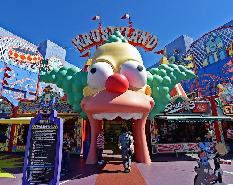 Krustyland, Universal Studios Hollywood