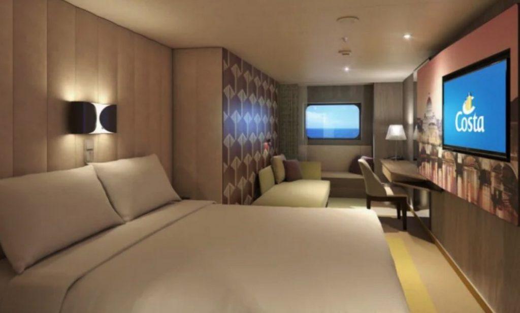 Premium Balcony Cabin, Costa Smeralda