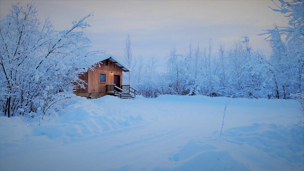Fairbanks in the Winter, Alaska in the Winter, winter in Alaska