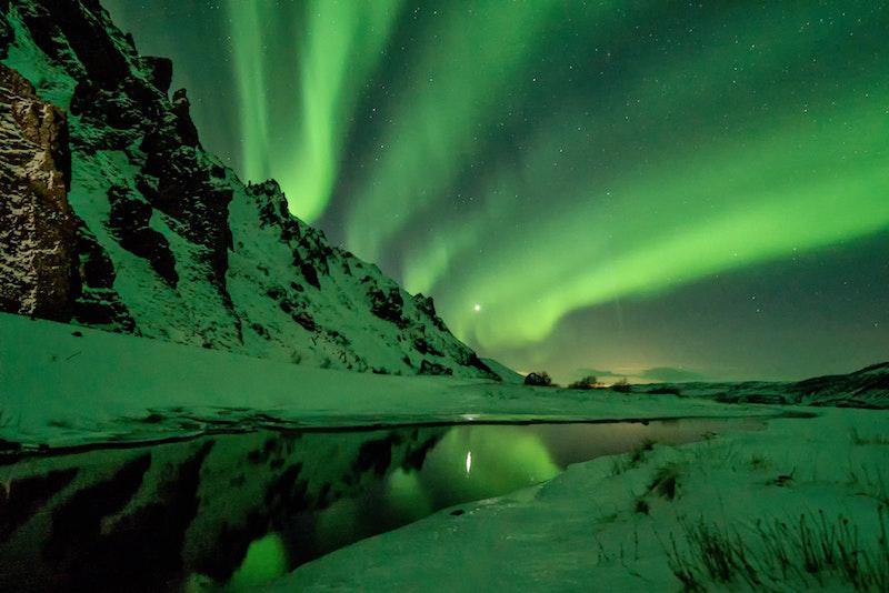 Aurora Borealis in Alaska or Northern Lights