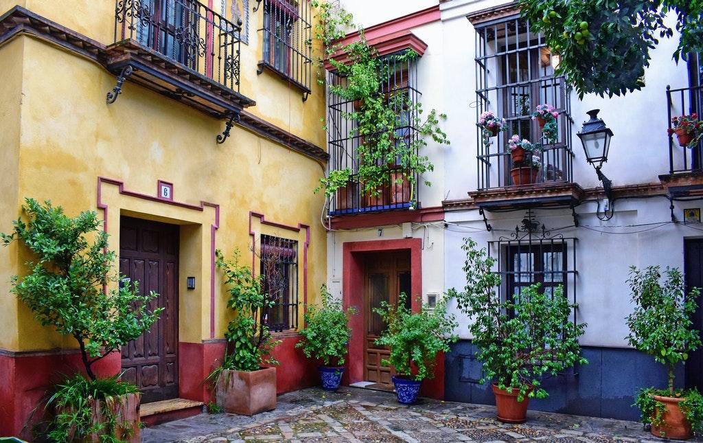 home in Seville Spain